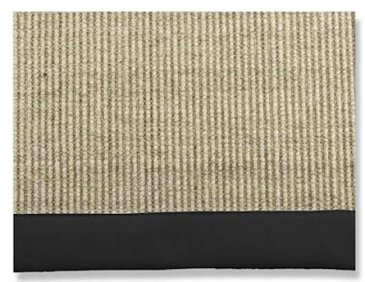 Artwood sisal black matta