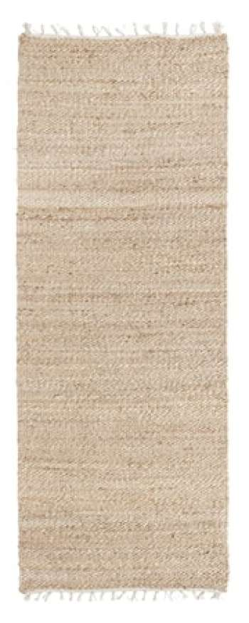 Ava Hemp Matta Natural 75x200 cm