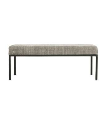 Bänk BENCH GREYS 120cm h:46cm,  House Doctor