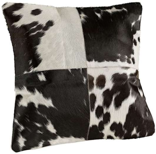 Cowhide Multi Kuddfodral 60x60